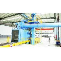 Buy cheap Roller Conveyor Abrator Steel Structure Cleaning Shot Blasting Machine from wholesalers