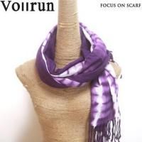 Buy cheap Violet 100% Acrylic Pashmina Scarf Wrap Tie Dye from wholesalers