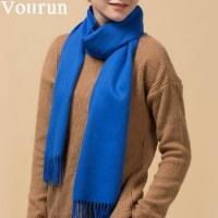 Buy cheap Wholesale Unisex Solid Dyed Chunky Wool Scarf 180*32cm from wholesalers