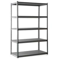 Buy cheap 5 Layers Boltless Shelving Grey Color Garage Shelving from wholesalers