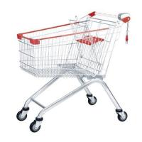 Buy cheap European Style Supermarket Shopping Trolley 100L from wholesalers