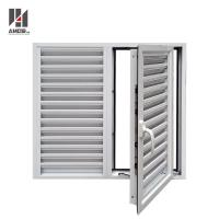 Buy cheap Exterior Powder Coating Casement Aluminum Shutters Window product