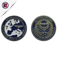 Buy cheap Engraved Personalized Military Ancient Iron Coins from wholesalers