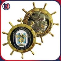 Engraved Challenge Gold Coins Navy