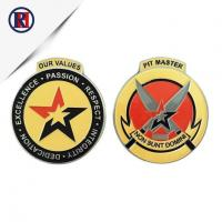Buy cheap US Soft Enamel Star Logo Silver Coin from wholesalers