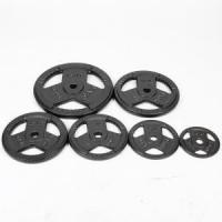 Buy cheap China Cast Iron Tri-grip Weight Plates Supplier from wholesalers