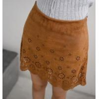 Suede Productions Buy Short Skirt Buy Suede Dress Women Hollow Skirt