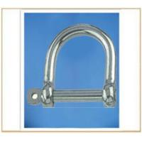 Buy cheap Stainless Steel Wide Dee Shackle from wholesalers