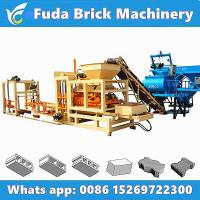 Buy cheap QT4-15 Big Hydraulic Automatic Concrete Block Plant from wholesalers