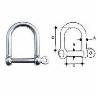 Buy cheap Bow Roller Wide Dee Shackle from wholesalers