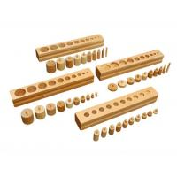 Buy cheap Montessori Material Montessori Educational Wooden Toys for Kids Cylinder Blocks from wholesalers
