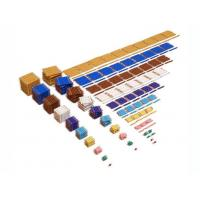 Preschool Educational Toys Montessori Math Golden Beads Set for Children Learning Games