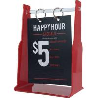 Buy cheap Plexiglass Transparent Signs Page Menu Holder Design from wholesalers
