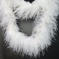 Buy cheap Wholesale 6plys white ostrich feather boa from wholesalers