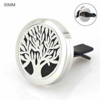 Buy cheap Car Air Freshener 316L Stainlss Steel cross Locket perfume vent clip from wholesalers
