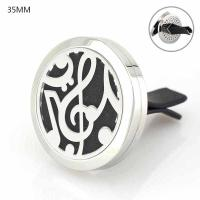 Buy cheap Floating Locket Jewelry Car Air Freshener 316L Stainlss Steel cross Locket perfume vent clip from wholesalers