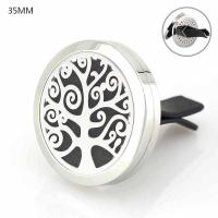 Buy cheap Floating Locket Jewelry Car Air Freshener 316L Stainlss Steel cross Locket perfume vent clip product
