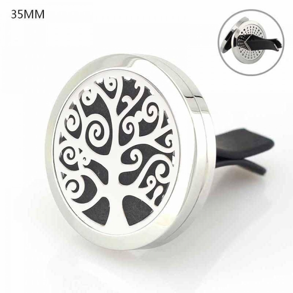 Quality Floating Locket Jewelry Car Air Freshener 316L Stainlss Steel cross Locket perfume vent clip for sale