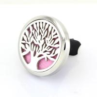 Buy cheap Car Air Freshener 316L Stainlss Steel cross Locket perfume vent clip product