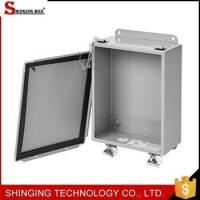 Buy cheap High security customIP65 Mild Steel Aluminum Enclosure from wholesalers