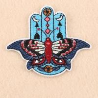 Buy cheap factory wholesale custom embroidered badges from wholesalers