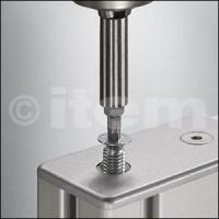 Buy cheap Profiles and accessories Countersunk Screw 8 SF M7.1x16, bright zinc-plated from wholesalers