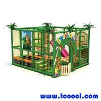 Buy cheap Tincool Amusement Indoor Play Equipment Baby Swing Seat Kids Slides from wholesalers