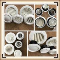 Buy cheap High Quality ABS Plastic Round Ceiling Air Vent Diffuser for Hvac from wholesalers