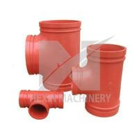 Buy cheap ductile iron reducing tee from wholesalers