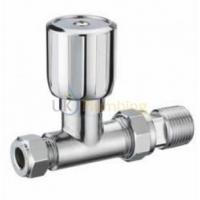 Buy cheap Heating Controls Pegler Terrier 1/2X15MM Wheel Head Straight Towel Rail Valve Chrome from wholesalers