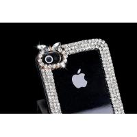 Buy cheap IPhone 5/5S/5C Diamond chain transparent mobile phone shell from wholesalers