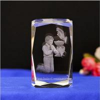 Buy cheap Statue First holy communion Crystal Statue from wholesalers