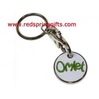 Buy cheap lapel pin& enamel badge TC-004 supermarket trolley coin, cheap coin product