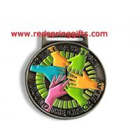 Buy cheap MD-017 best sale high quality antique nickel custom medal for sports product