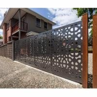 Buy cheap Aluminum Courtyard Gate Aluminum Fence Gate from wholesalers