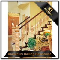 Buy cheap Aluminum Balustrade Customized Interior Metal Aluminum Stair Hand Railing from wholesalers