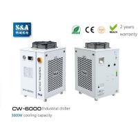 Single pump and dual temp water chiller CW-6000 for 300W-500W fiber laser