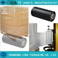 Buy cheap clients demand Clear LLDPE Stretch Film pre stretch 280% jumbo roll from wholesalers
