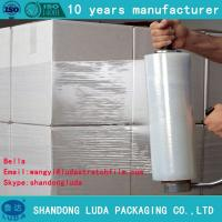 Buy cheap 6000m length quality transparent stretch film manufacturer low price cling wrap from wholesalers