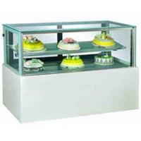 Buy cheap Fashionable Small Cake Display Fridge , Table Top Refrigerated Display Case from wholesalers