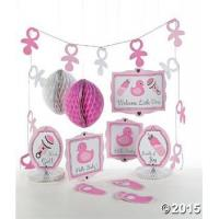Buy cheap Girl Baby Shower Party Decorating Kit from wholesalers