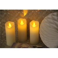 Buy cheap Battery Operated Flicker Real Wax LED Candle with Dancing Flame from wholesalers