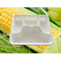 Product: Starch-based Biodegradable Four-lattice Meal Box