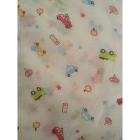 Buy cheap Printed Organic Cotton Muslin Fabric from wholesalers