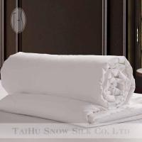 Buy cheap Taihu Snow Silk white cotton shell 100% mulberry silk handmade quilt from wholesalers