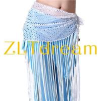 Buy cheap ZLTdream Belly Dance Hip Scarf Highlights cloth With Long Tassels from wholesalers