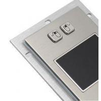 Metal industrial pointing device touchpad module with USB PS2 rear panel mount