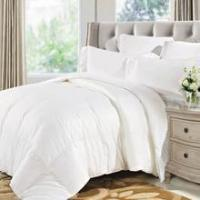 Buy cheap Comforters Natural Comfort Soft and Luxurious 300TC Sateen White Down Alternative Duvet Insert from wholesalers