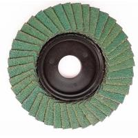 Buy cheap Flexible abrasive cloth aluminium oxide flap disc can be customized from wholesalers