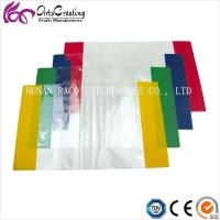 Buy cheap Fixed Size PVC Clear Book Cover with Color Edge from wholesalers